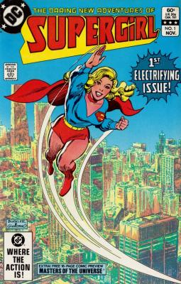 The daring new adventures of Supergirl No. 1