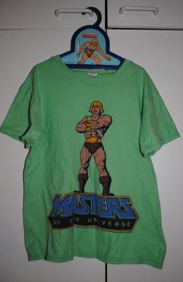 He-Man T-shirt on He-Man hanger