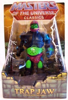 Trap Jaw Masters of the Universe Classics Maitres de l/'univers Scellé W Box