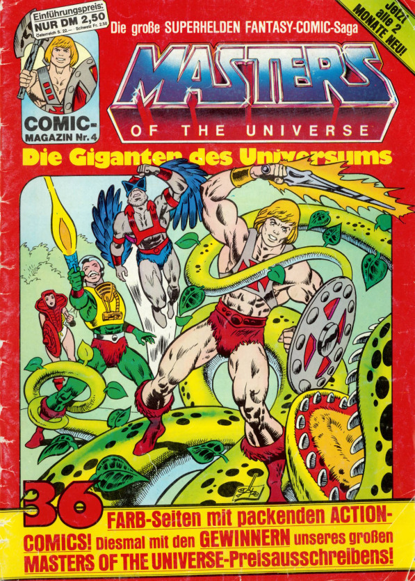 YOUR CHOICE MINI COMIC BOOK Masters of the Universe Vintage MOTU He-Man #1