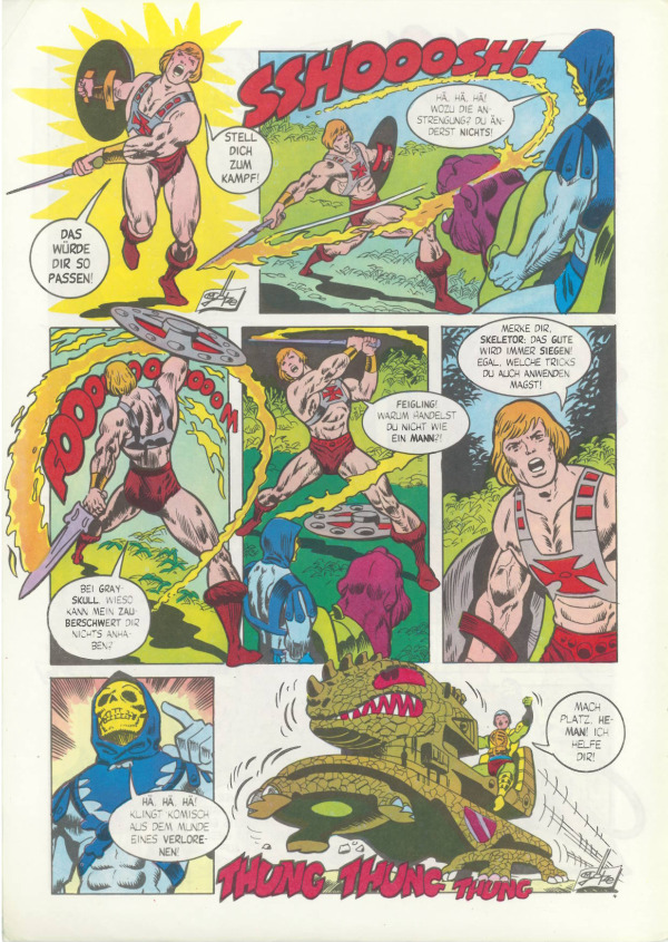 MINI COMIC BOOK YOUR CHOICE Vintage MOTU He-Man #1 Masters of the Universe