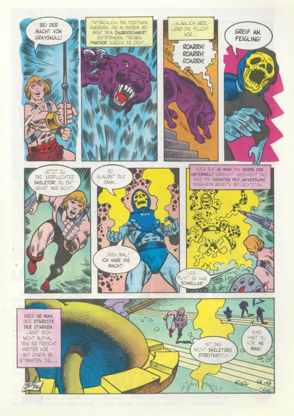 MINI COMIC BOOK Masters of the Universe YOUR CHOICE Vintage MOTU He-Man #1