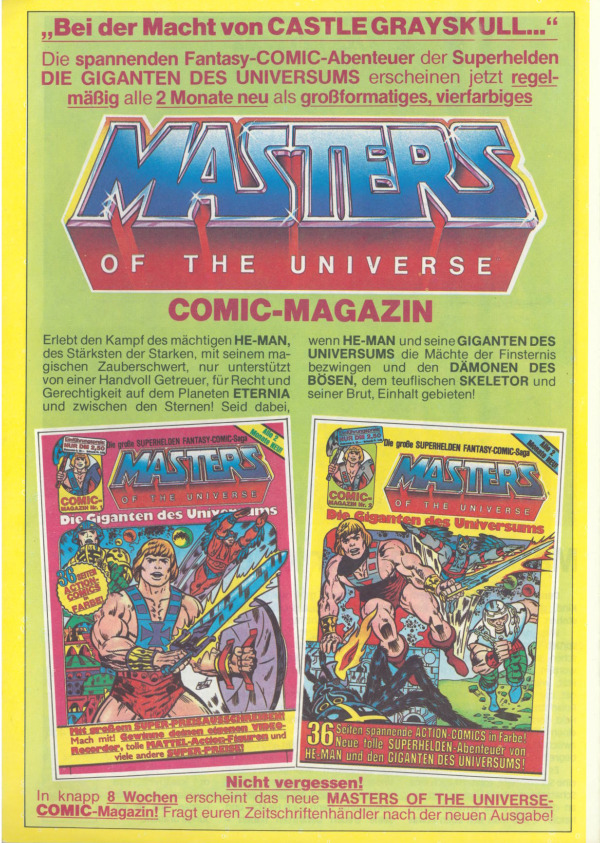 MINI COMIC BOOK Vintage MOTU He-Man #1 Masters of the Universe YOUR CHOICE