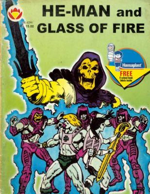 He-Man and Glass of Fire