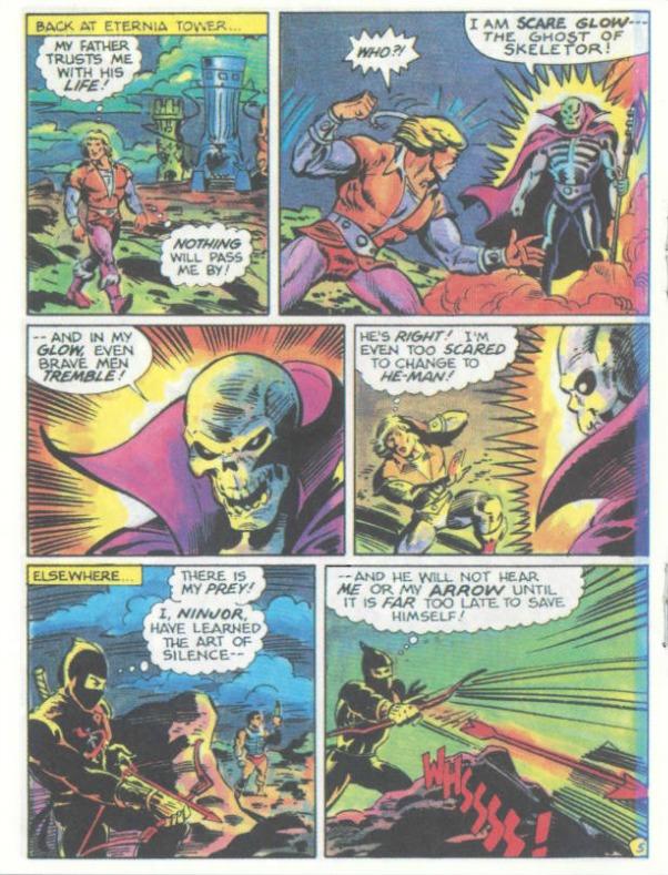 MOTU The Search for Keldor Mini Comic Book Masters of the Universe He-Man