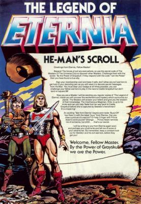 The Legend of Eternia No. 01