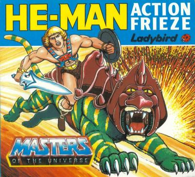 He-Man Action Frieze