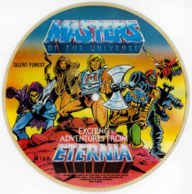 He-Man hit single flexi disc