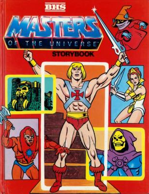Masters of the Universe Storybook 1986