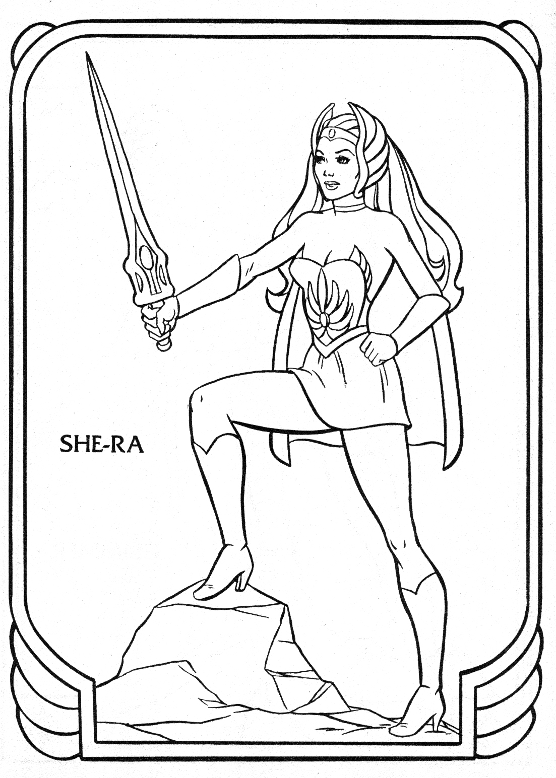 Free coloring pages of heman for Masters of the universe coloring pages