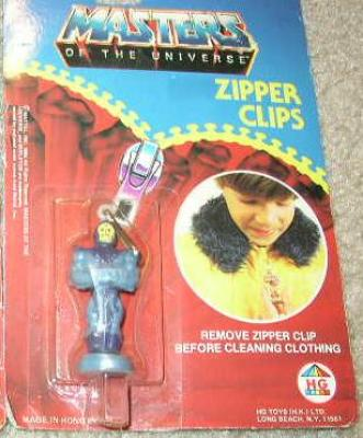 Zipper Clip - Skeletor