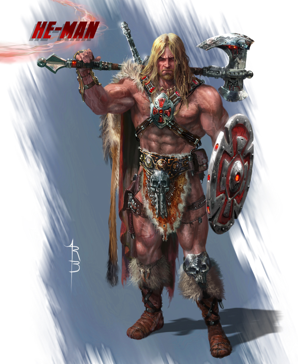 Ryan Barger Masters Of The Universe