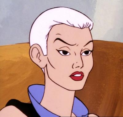 Evil-Lyn without her helmet, from The Witch and the Warrior