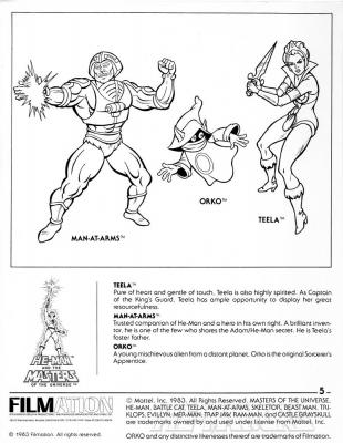 Page 5: Heroic Warriors