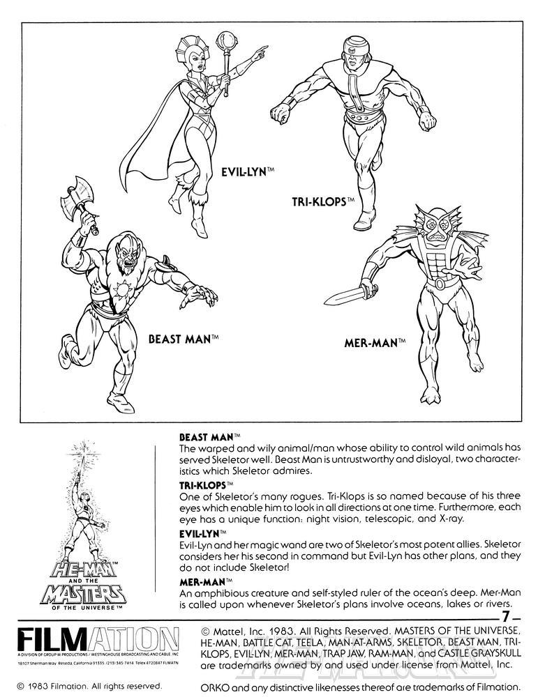 skeletor page 7 evil warriors