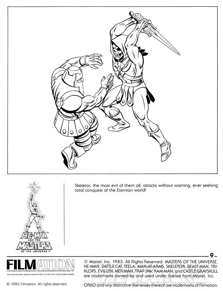page 9 skeletor versus ram man
