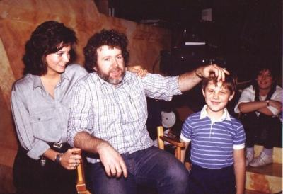 Richard with Gary Goddard and Courteney Cox!
