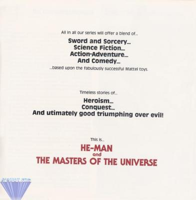 An outline of the He-Man and the Masters of the Universe series.