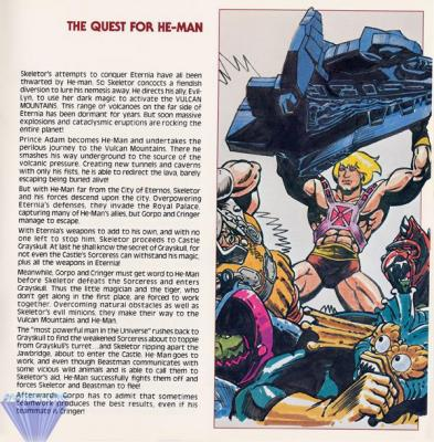 """THE QUEST FOR HE-MAN"""