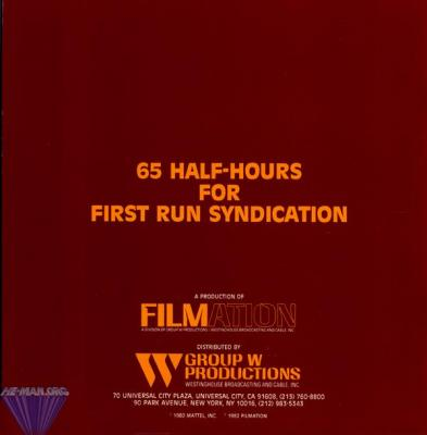 65 episodes for first run syndication.