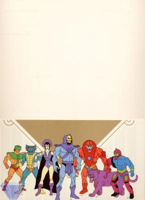 The first page featuring the bad guys.