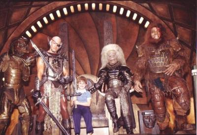 Richard with Blade, Saurod, Karg and Beastman!