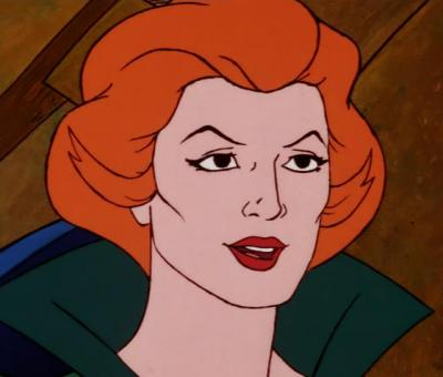 Queen Marlena without her crown, from Teela's Quest