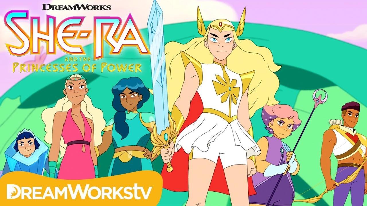 He Man Org News Dreamworks Unveils She Ra And The Princesses
