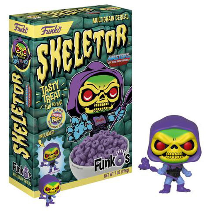He-Man.org > News > Funko Will Have Skeletor Cereal & Bow