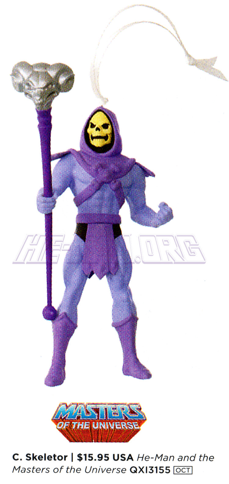 He-Man.org > News > Another look at the 2017 Skeletor Keepsake ...
