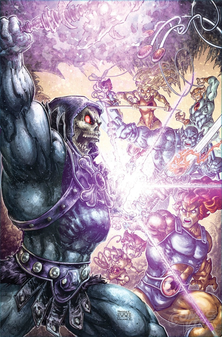 Image result for he-man/thundercats #3