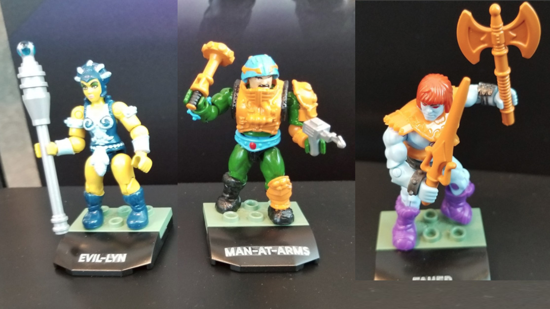 Mega Construx Heroes - Series 3 - Man-At-Arms, Faker, Evil