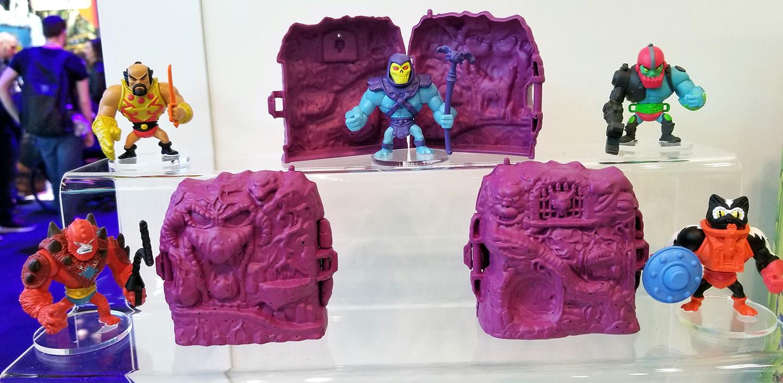 MASTERS OF THE UNIVERSE MAITRES DE L/'UNIVERS Eternia minis Original He-man Neuf Scellé Code A