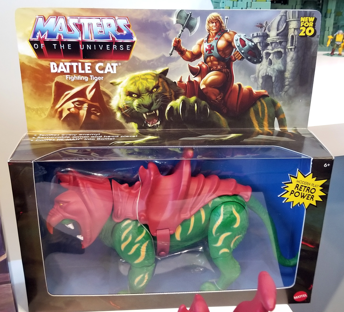 MOTU Modern Masters of the Universe Display Case