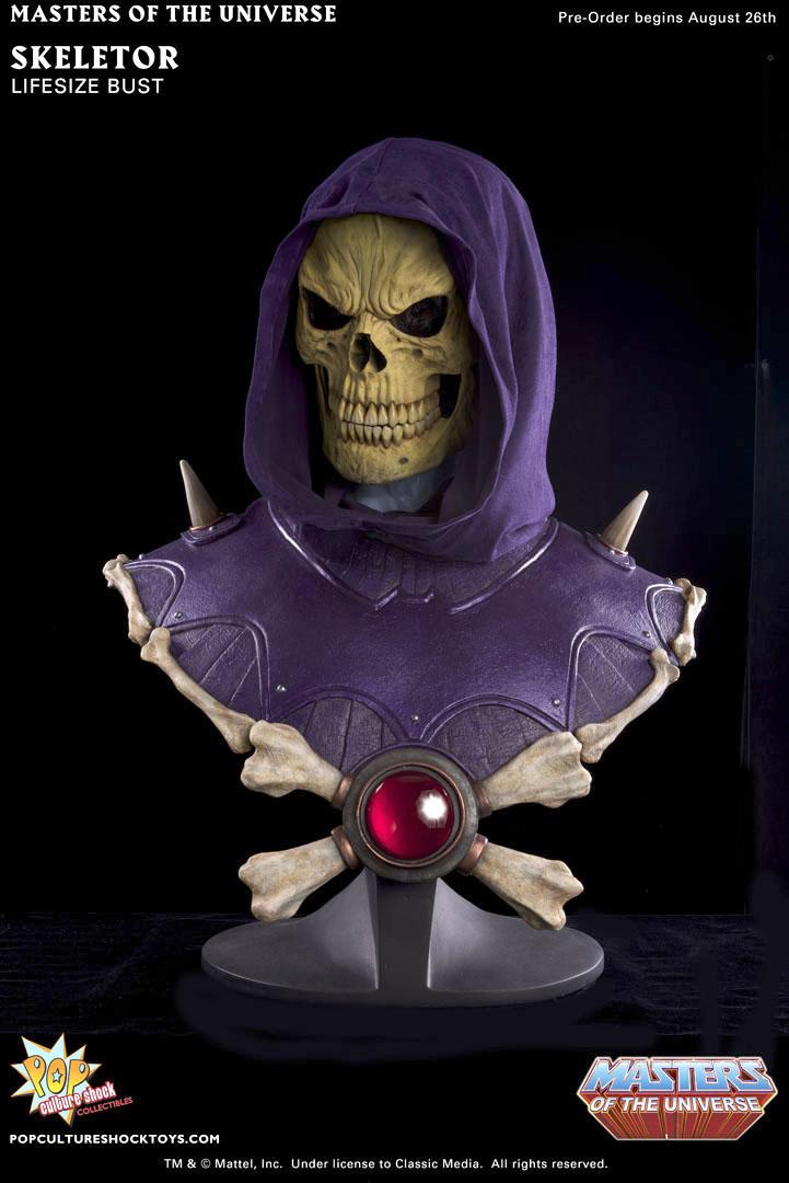 [Pop Culture Shock] Masters Of The Universe: Skeletor busto 1:1  - Página 2 Skeletor_bust_a_full