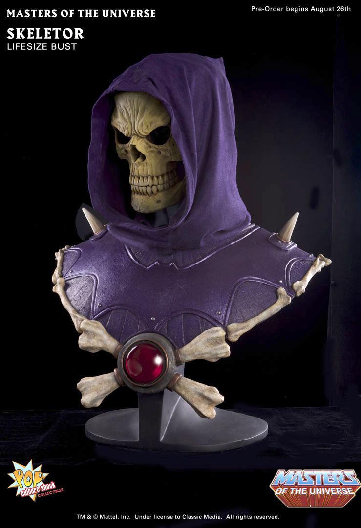 [Pop Culture Shock] Masters Of The Universe: Skeletor busto 1:1  - Página 2 Skeletor_bust_b_full