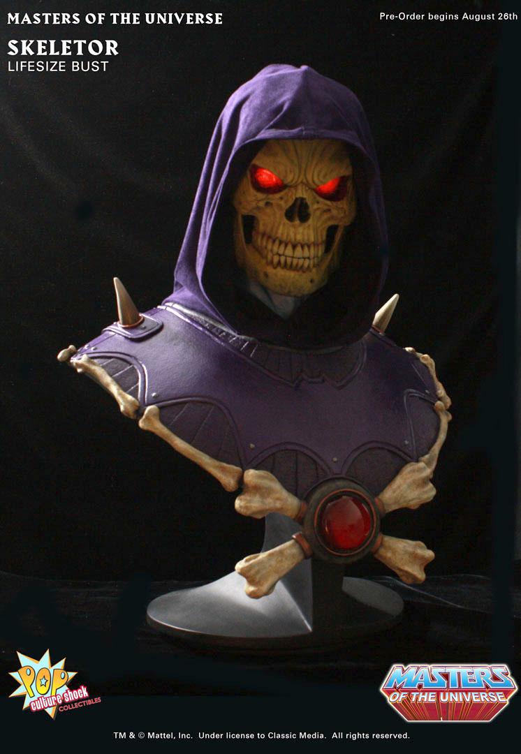 [Pop Culture Shock] Masters Of The Universe: Skeletor busto 1:1  - Página 2 Skeletor_bust_ex_c_full