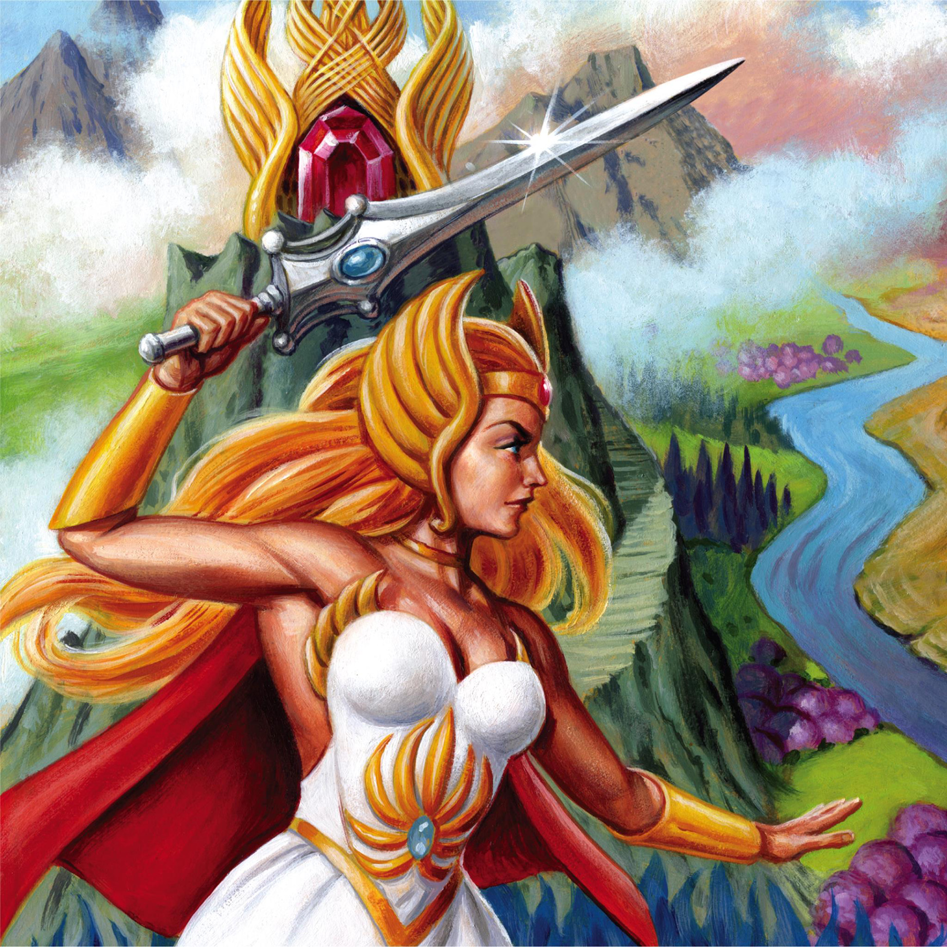 Super7 ReAction SDCC 2018 Exclusive Princess of Power She-Ra /& Hordak