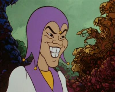 Acrobad as he appeared in the cartoon.