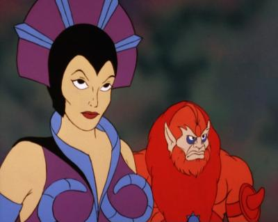 Evil-Lyn is off-model.