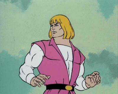 Prince Adam is not happy with Cringer's comments.