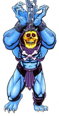 Skeletor is imprisoned.
