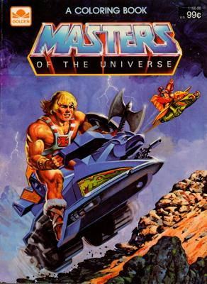 He-Man and Stratos traverse Eternia.