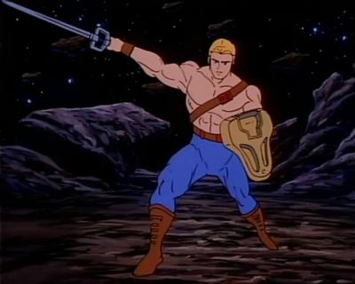 He-Man's rarely seen unique shield.
