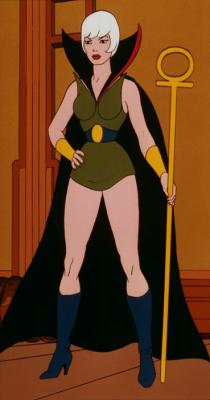 Evil-Lyn in disguise as the character Magestra.