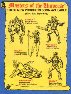 An advert for the latest action figures appears in the second minicomic.