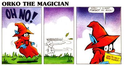 Orko's comic strip #43