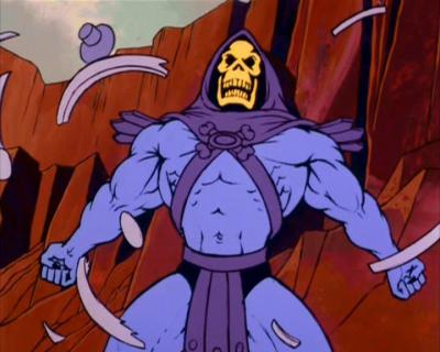 Skeletor breaks free in spectacular fashion.