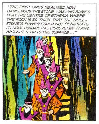 The First Ones as they appeared in the UK comic.