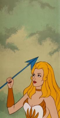 She-Ra without her tiara.